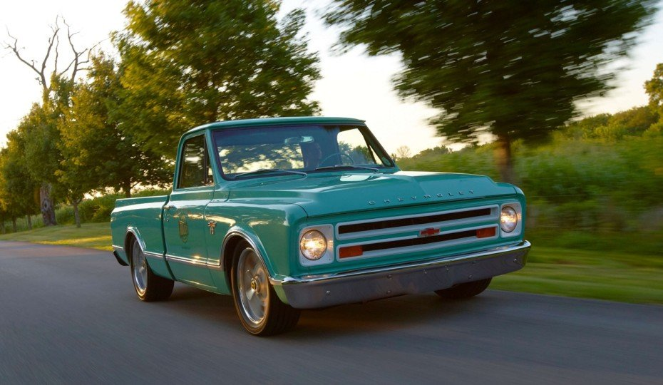 Holley Releases Full Lineup Of 1967-72 Chevy C10 LS Swap Components