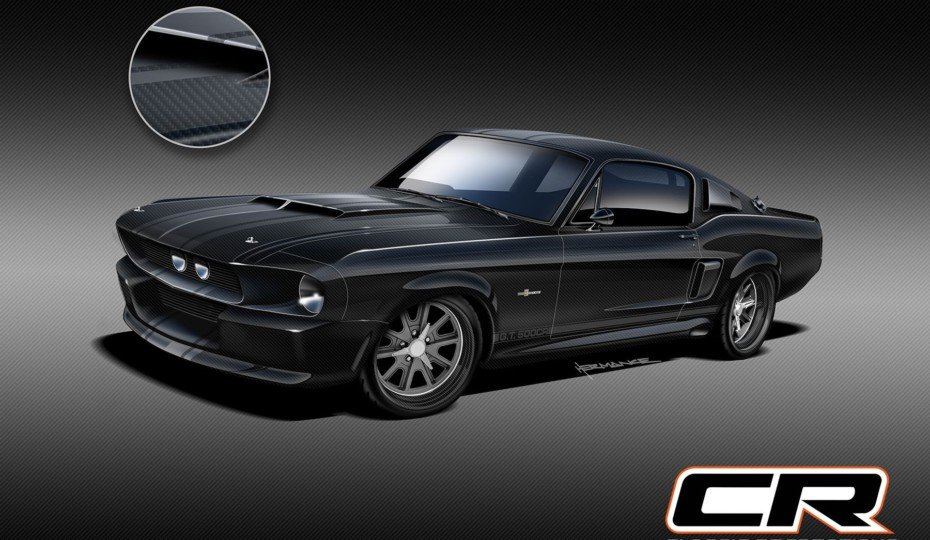 Introducing the World's First Carbon-Fiber-Bodied '67 Shelby GT500CR