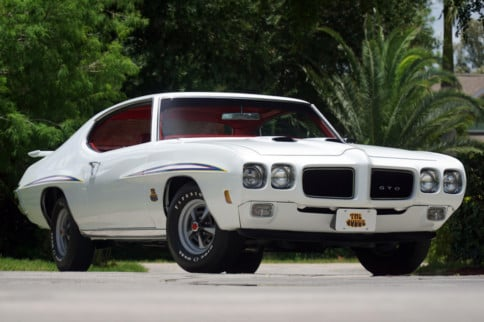 Hurry! Auction Ends July 10th On This 1970 Pontiac GTO Ram Air IV