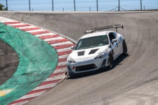 Video: Supercharged BRZ Chases GT3 At Laguna Seca, Sets A 1:35.966!
