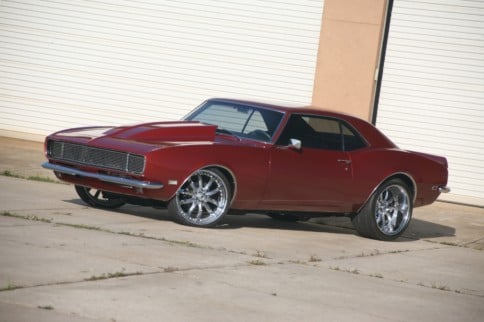 Home-Built Hero: This '68 Camaro Has Gone From Shell To Showstopper