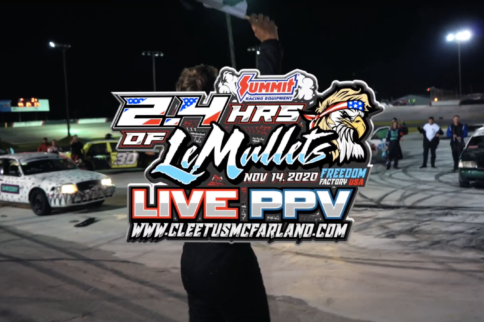 Cleetus McFarland To Host 2.4 Hours Of LeMullets PPV on Nov. 14th