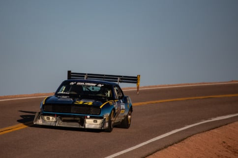DuSold Design Twin-Turbo LSX Camaro Takes On Pikes Peak
