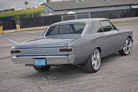 Resurrecting A Shell Of A '66 Chevelle SS396 And Making It Better