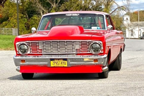Brotherly Tribute: Gary Houghtaling's Twin Turbo 1964 Ford Falcon