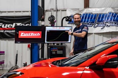 FuelTech Feeds Record-Setting C8 Corvette
