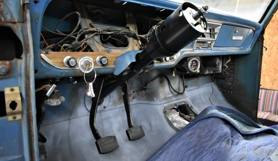 Project F-Word: Bringing Modern Steering to Our F100 Project