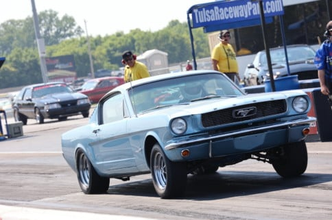 Blue Oval Muscle Flexes At The Mid America Ford & Shelby Nationals