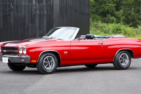 Rare Rides: The 1970 Chevrolet Chevelle SS454 LS6 Convertible