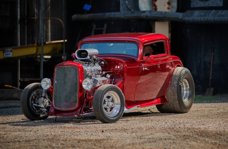 Big Bad Pro Street 1932 Ford Coupe By Wentz's Hot Rods