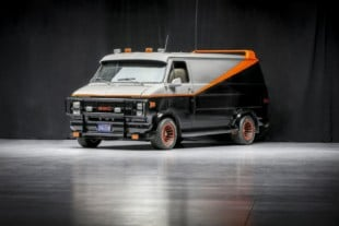 A-Team's 1979 Chevy G-Series 2500 Van Is Headed To Auction