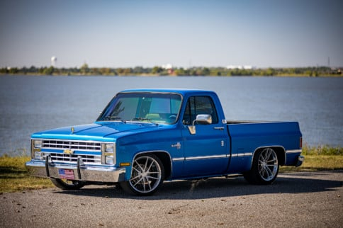 The Triple Threat: Mickey Tessneer's Supercharged 1985 C10 Pickup