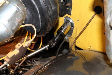 14 - universal joint and steering shaft installation
