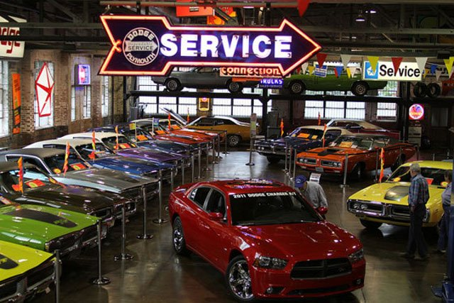 Video Hemi Highway Tour Stops At The Wellborn Musclecar Museum