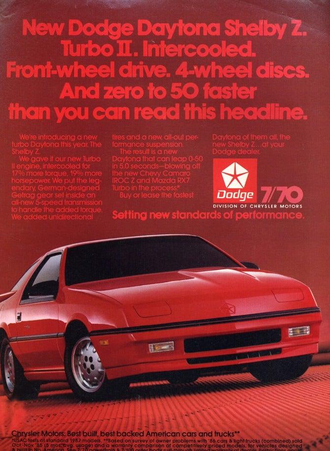 Video: Retro '87 Dodge Daytona Promotional Video | Street Legal TV